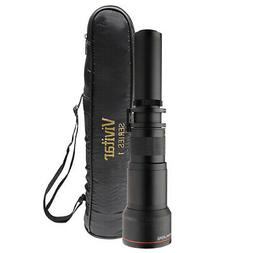 Vivitar 650-1300mm f/8 Telephoto Zoom Lens for T-mount