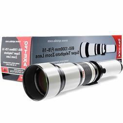 Opteka 650-2600mm Super Zoom Lens for Samsung NX NX1 NX3000