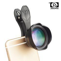 APEXEL 65mm Lens 3X Telephoto Lens HD Cell Phone Camera Lens