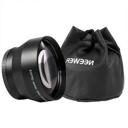 Neewer 67mm 2.2x Magnification Telephoto Lens Professional H