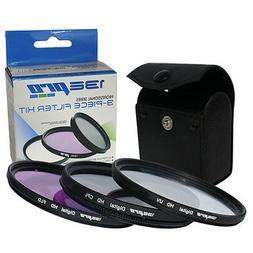 I3ePro 52mm Filter Kit for NIKON D3000 D3100 D3200 D3300 D50