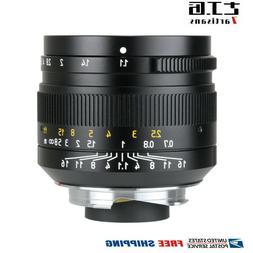 7artisans 50mm F1.1 Manual Lens For Leica M Mount M-M M3 M4