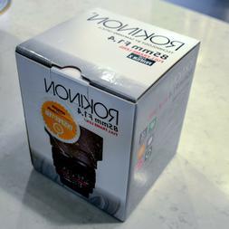 Rokinon 85M-FX 85mm F1.4 Ultra Wide Fixed Lens for Fujifilm