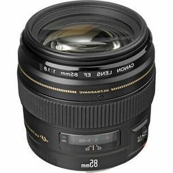 Canon 85mm f/1.8 EF USM Autofocus Lens 2519A003