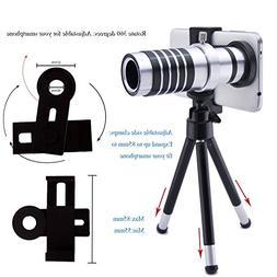 AFAITHUniversal Smart Phone Camera Lens Kit Including One 12
