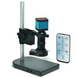Aihome 14MP HDMI USB Industry Microscope Kit Camera Set Remo