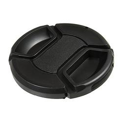 CamDesign 77MM Snap-On Front Lens Cap/Cover for Canon, Nikon
