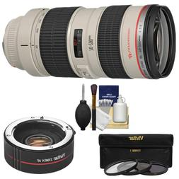 Canon EF 70-200mm f/2.8L USM Zoom Lens with 2x Teleconverter