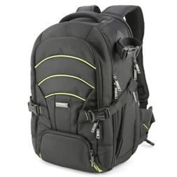 Evecase DSLR Camera Bag Backpack, Laptop Travel Large Waterp