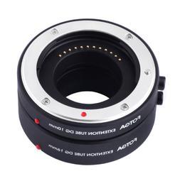 FOTGA Macro AF Auto Focus Extension Tube 10mm 16mm Set DG fo