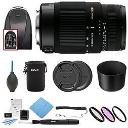 Sigma 70-300mm f/4-5.6 SLD DG Macro Lens Bundles