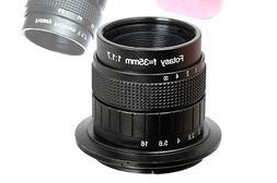 Fotasy N35 35MM F1.7 CCTV Movie Lens for Sony E-Mount NEX Mi