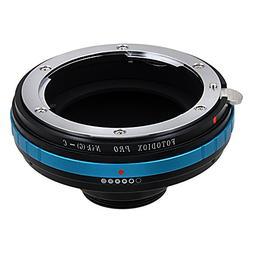 Fotodiox Pro Lens Adapter Nikon F Mount G-Type D/SLR Lens to