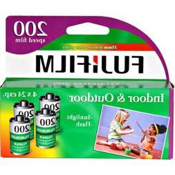 FujiFilm ISO 200 35mm Color Print Film, 24 Exposures