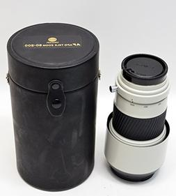 Minolta - 80-200mm HS f/2.8 G telephoto zoom lens