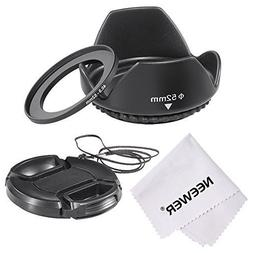 Neewer Lens Hood Kit for Sony Alpha E PZ E-mount Power Zoom