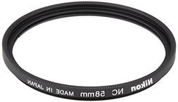 Nikon 2483 58mm NC Filter Attaches to HN-CP17 lens hoodInter
