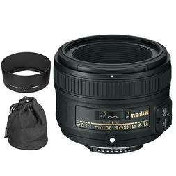 Nikon AF-S Nikkor 50mm f/1.8G Lens - FACTORY REFURBISHED