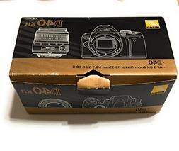 Nikon D40 6.1MP Digital SLR Camera Kit with 18-55mm f/3.5-5.