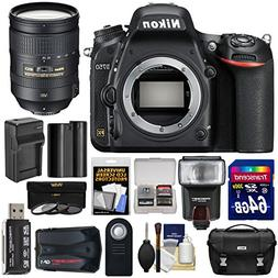 Nikon D750 Digital SLR Camera Body with 28-300mm VR Lens + 6