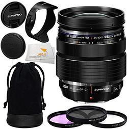 Olympus M. Zuiko Digital ED 12-40mm f/2.8 PRO Lens with Manu