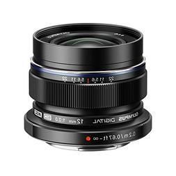 Olympus M. Zuiko Digital ED 12mm f/2.0 Lens for Micro 4/3 Ca