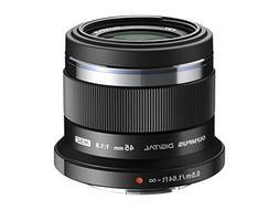 Olympus M. Zuiko Digital ED 45mm f1.8  Lens for Micro 4/3 Ca