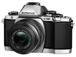 Olympus OM-D E-M10 Mirrorless Digital Camera with 14-42mm 2R