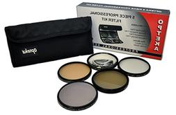 Opteka 58mm High Definition II Professional 5 Piece Filter K