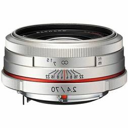 Pentax K-Mount HD DA 70mm f/2.4 70-70mm Fixed Lens for Penta