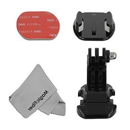 Quick-Release J-Hook Mount & Base with Sticker for GoPro Her