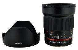 Rokinon 24mm F1.4 ED AS IF UMC Wide Angle Lens for Olympus a
