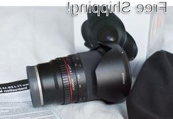 Rokinon 24mm F1.4 ED AS IF UMC Wide Angle Lens for Sony E-Mo