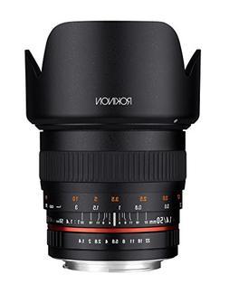 Rokinon 50mm F1.4 Lens for Sony A Mount Digital SLR
