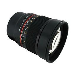 Rokinon 85M-E 85mm F1.4 Fixed Lens for Sony, E-Mount and for