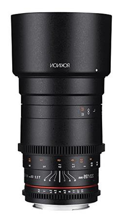 Rokinon Cine DS 135mm T2.2 ED UMC Telephoto Cine Lens for Ca