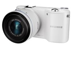 Samsung NX2000 20.3MP CMOS Smart WiFi Mirrorless Digital Cam