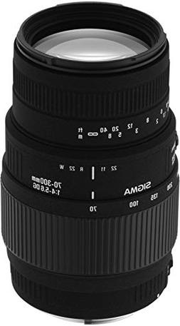 Sigma 70-300mm f/4-5.6 DG Macro Telephoto Zoom Lens for Mino