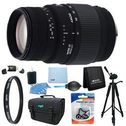 Sigma 70-300mm f/4-5.6 SLD DG Macro Lens for Nikon DSLR Came