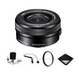 Sony 16-50mm F3.5-5.6 OSS E-Mount Pancake Lens Bundle. #SELP