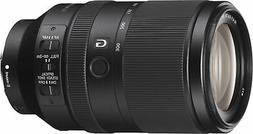 Sony - 70 mm to 300 mm - f/4.5 - 5.6 - Zoom Lens for Sony E