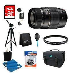 Tamron 70-300mm f/4-5.6 DI LD Macro Lens Pro Kit for Nikon A