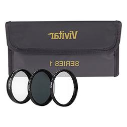Vivitar 3-Piece Multi-Coated HD Filter Set