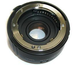 Vivitar Auto Focus Teleconverter Lens for Nikon - Black