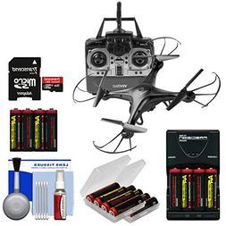Vivitar DRC-120 Camera Aerial Quadcopter Drone  with 16GB Ca