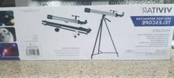 Vivitar TEL50600 60X/120X Telescope Refractor with Tripod