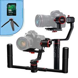 FeiyuTech a2000 3-Axis DSLR Camera Gimbal, Dual Handheld KIT