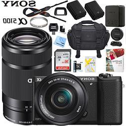 Sony a5100 Alpha Mirrorless Digital Camera with 16-50mm & 55