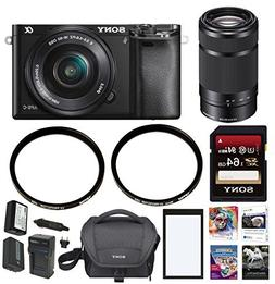 Sony a6000 Mirrorless Camera with 16-50mm and 55-210mm Lens