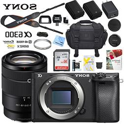 Sony a6300 4K Mirrorless Camera ILCE-6300M/B Alpha  with 18-